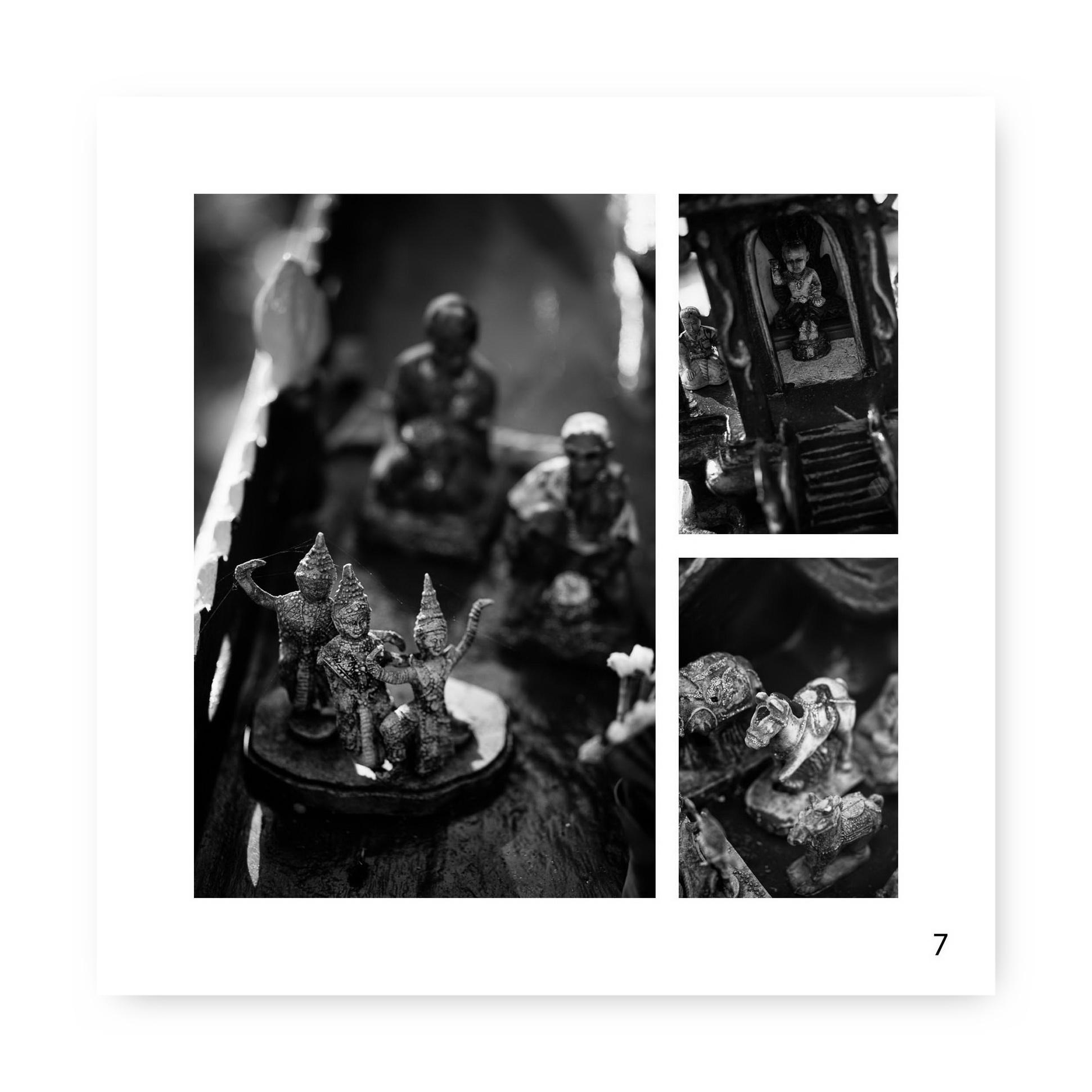 Beispielseite aus meinem aktuellen Fotobuchprojekt