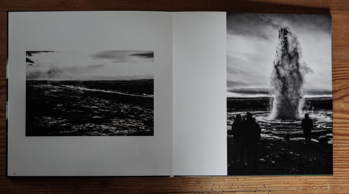Die Bilder haben die Anmutung von Fotos auf hochglänzendem Papier