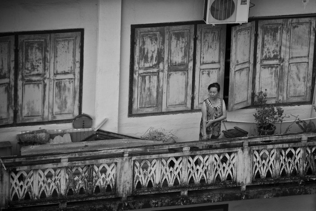 Der Balkon gegenüber